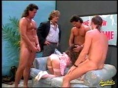 80s porn gangbang with hairy hair girl