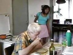 Oriental Teen Screwed By Old Man