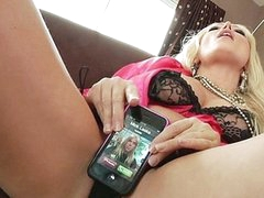 For a sex addict like Diana Doll, even a cellphone call takes on raunchy undertones. When her phone rings it vibrates and that often means her 1st thought is to fuck it... long previous to this babe ever thinks to answer it! Having her phone number is like foreplay with Diana!