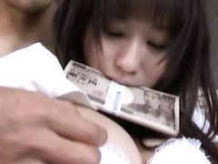 Naughty and amazingly hot Japanese angels give deep face hole
