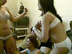 arabic girls party for cleaning them selfs from unwanted body hair