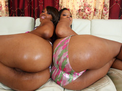 Natasha and Imani are stacked! They got wazoo for days. Natasha has some big love mounds that can squeeze your pecker till it goes drip drips drip. Imani the anal dominatrix will pound your pecker with her wazoo hole till your shit is black and blue! Time to some out your pecker cause it's about to go down......