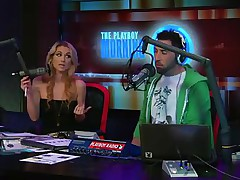 See the hot golden-haired host of the play playboy radio program 'Morning Show' discussing about some important facts of appearance and looks those you'll need to keep u fit and sexy! And to show the practical result she takes off her tops to show u how gorgeous her body is by obeying those rules herself!