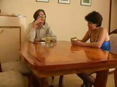Mature Russian wife gets caught cheating with her juvenile lover