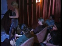 aged and younger hotty gangbanged in porn cinema