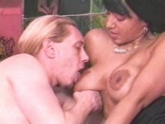 Marvelous playgirl with large tits does anything with him