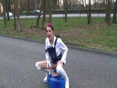 slut on the road