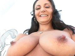 Large breasted Ava Addams shows off her assets