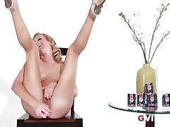 Sexy G Vibe Interview Sexy Blonde Pornstar Brett Rossi