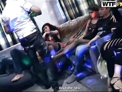 Nasty legal age teenager chicks in student sex party group action