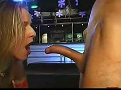 Deep face hole blowjob