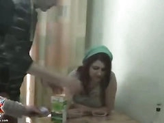 Drunk college girls try out strap-on sex