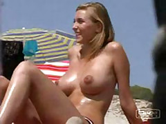 This summer I managed record so many dilettante sex clips with barefaced beauties getting suntanned topless and demonstrating boobs on the beach