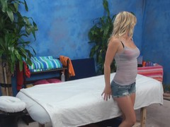 It is absolutely impossible to stay frustrated after witnessing sex massage scenes! Here is one of 'em and u should just take a glance at anything what sexy masseur and cute girl are doing in it!