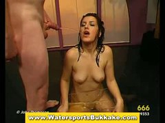 Pissing golden shower torrent girl