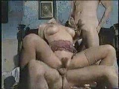 Hot hottie in classic porn clip 2