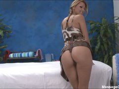 Massage girl Cindy with glamorous ass