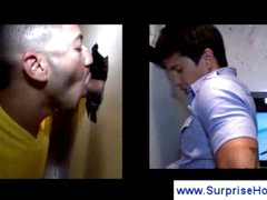 Kinky homosexual guys into oral job action