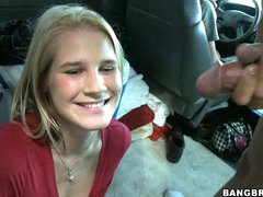 Super doxy Payton Leigh receives so amazed with her boyfriend's semen spurt
