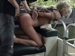 Carla receives screwed and facial on a boat (Kink » Public Disgrace)