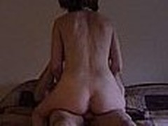 Hot mature chick acquires plowed by a bald fellow with a big cock. This babe is really dirty and lets him do everything this chab wants, this chab even takes a pic of the creampie this chab gave her.