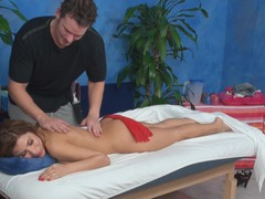 The mission to stay indifferent after spending time examining how attractive sporty masseurs are pounding beautiful women who came to massage saloon not for massage only! Watch this fascinating act now!