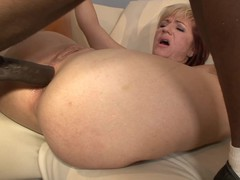 Brittany Blaze is the latest mother I'd like to fuck to brave the large chocolate ding-dong that we had in store for her.  A voluptuous blond, Brittany has a worthwhile bubble butt that our stud stuck his thumb into, giving her some extra stimulation that gave her an intense orgasm.