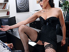 Miko Lee is one meaty and assured entrepreneur. When seemingly qualified Keiran Lee walks into the office for an interview, this playgirl didn't wait this chab would shriek about her large love brassiere buddies in her face. After all, honesty is a great value. This Chick makes a decision to prolong the interview, if only this chab can fuck her real good.