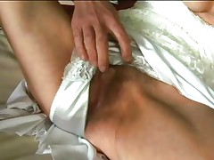 Inci is an incredibly hawt granny who likes getting dirty. This honey fingers her granny cunt as fast as her old fingers can move. Then that babe puts her wrinkly lips on Libor's jock and sucks him off until that man squirts his semen.