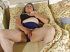 Although our granny is so old that she barely moves the fucking slut still needs to fuck. Cornel rubs her saggy bawdy cleft and then gets some help from her girl. She kisses these old wrinkled boobs and helps her undress so they can have some lesbian action. The whores desire to acquire dirty so why not watch them and enjoy