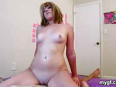 Enjoyable golden-haired rides the cock and previous to lengthy she is on her back and getting royal screwing from the large cock. This babe moans and moans previous to turning around to give a rollicking fuck in her a-hole gap from a cock that is already huge from the effort and pounds her a-hole like a trip hammer on the automatic.