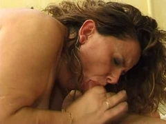 unsightly mature big gazoo bbw french anal oral sex salope troia takes hard knob in the gazoo all the way brassiere buddies