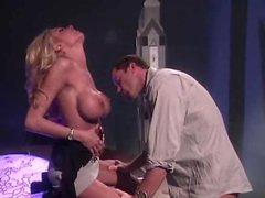 Oral-service act with blazing sexy Briana Banks