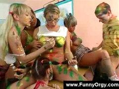 Painting teachers want it artistic
