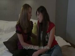 luxury lesbians in bedroom action