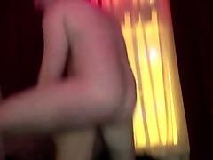 Amateur fellow fucks hooker and watches her finger herself