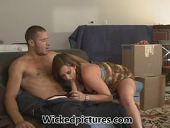 Moving house receives sexy for dirty ass bitch Tory Lane