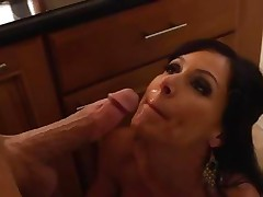 Kendra Longing gets her face doused with hot dick juice
