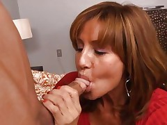 Honey Tara Holiday rams a hard shlong down her throat