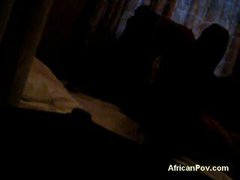 African Drilled In A Hotel