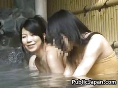 Sexy Asian hottie is fucked in the hot spring 5 by PublicJapan