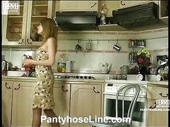 Alice&Mike cool pantyhose movie scene