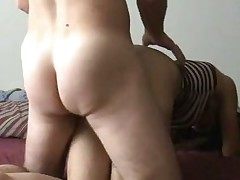 I can not ever take my eyes off my wife's butt. I like fucking her doggy style so I can look at it. What do u think of her butt? I think it is just the right shape and size. I know it makes my dick hard every time I watch her arse naked.
