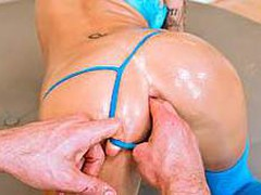 Watch Juelz Ventura getting her ideal round a-hole slammed inside out by a large hard pecker. That Sweetheart has a lovely couple of mounds and a insatiable excitement for anal sex.