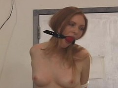 Master Savage abuses and dominates tits and snatch