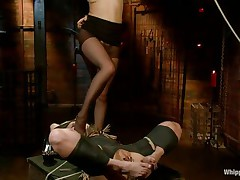 I bet u love seeing perverted harlots having fun. If u do then why not watch those movie? With a blond fastened cute milf that's engulfing the muff of her mistress and wetting her lips as that babe does that u can surely be satisfied. Her billibongs were punished with clothespins and her cunt, well, let's say there's a lot more to watch