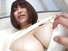 She's nice-looking busty and loves giving her large boobs for a priceless suck. Marie loves the attention she acquires and she deserves a lot more then some nipple sucking. See 'em and as things acquire hotter. Maybe this Japanese whore will end up with sperm all over her love melons