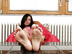 Sharon loves sucking, nearly all especially her toes. Watch this hot brunette hair with lengthy black hair and sexually excited face as that sweetheart sucks her hot feet and shows us what that sweetheart is capable of, do u think that that sweetheart would engulf 'em with even more pleasure if that sweetheart had some semen on them?