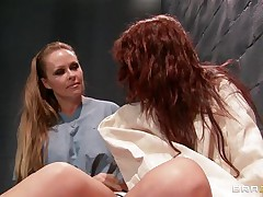 Watch how a hawt blonde acquires of leash a mad hawt redhead babe and starts playing with her hawt scones and makes her horny. Look how mean is the blonde and how that babe fingers the patients constricted cunt. Is that going to bring her some 10-Pounder or sperm on their wet lips?