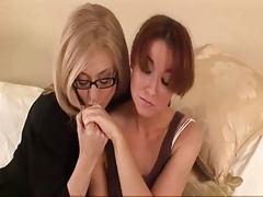 Mature Woman Seduces Shy Youthful Girl...F70